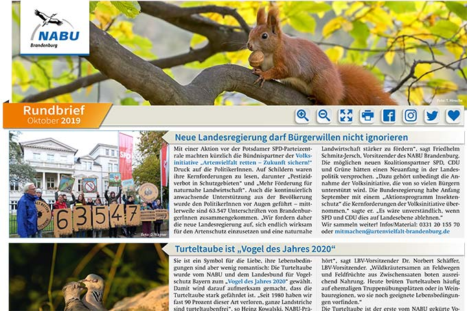 Rundbrief Oktober 2019